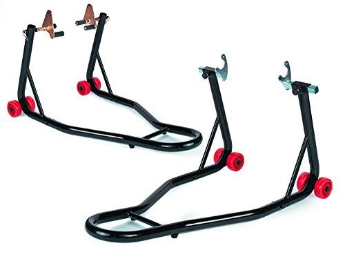 Motorradständer Montageständer Motorrad MT1 Humberg vorne und hinten Set