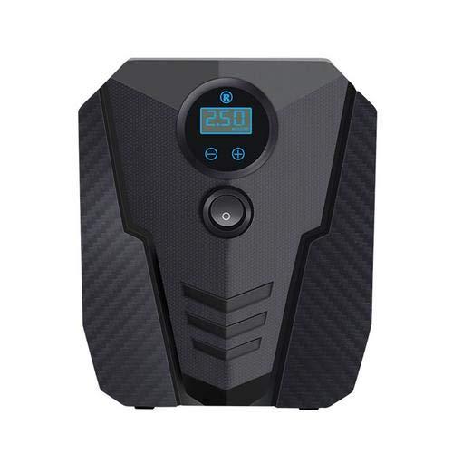 Inflador de neumáticos CHENSTAR DC 12 V digital para coche, bomba de aire portátil, bomba de aire eléctrica, inflado de neumáticos para coche, bicicleta, motocicleta, pelotas
