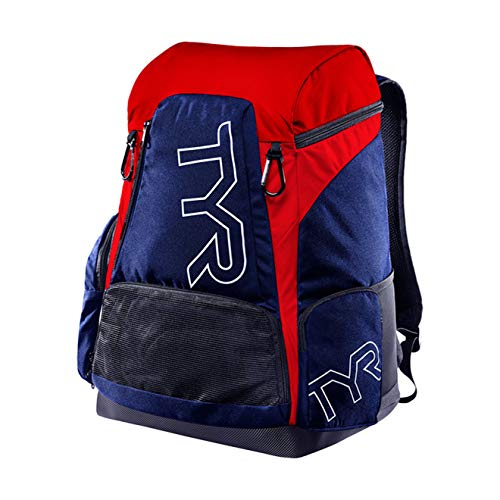 TYR Alliance 45L Backpack, Navy Red, NA