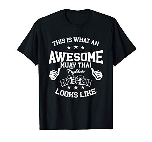 Gran Regalo De Luchador De Muay Thai, Artista Marcial De Camiseta