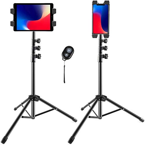 Vsport Tripod stand for iPad, tablet & Phone Tripod Stand for iPad Mini,...
