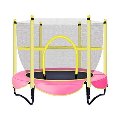 Trampolin Brincolin para Niños y adultos Mini niños plegable del trampolín, equipamiento interior acondicionamiento aeróbico niños Trampolín, Salto de ratón cerrado que consta de 30 fuentes de resiste