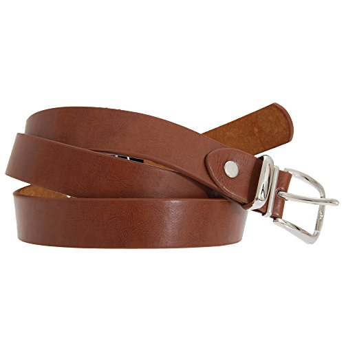 Forest Belts - Cuir reconstitué, largeur 2cm - Homme (2XL) (Marron)