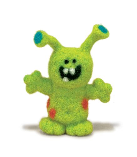 Dimensions Needlecrafts Needle Felted Character Kit, Monster