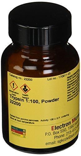 EMS 22200 Trypsin 1:100, Powder, 25 g