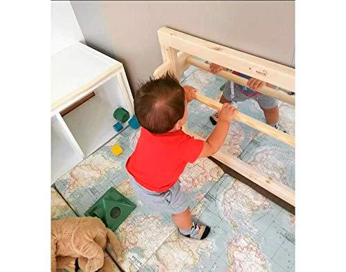 Espejo de seguridad con barra Montessori
