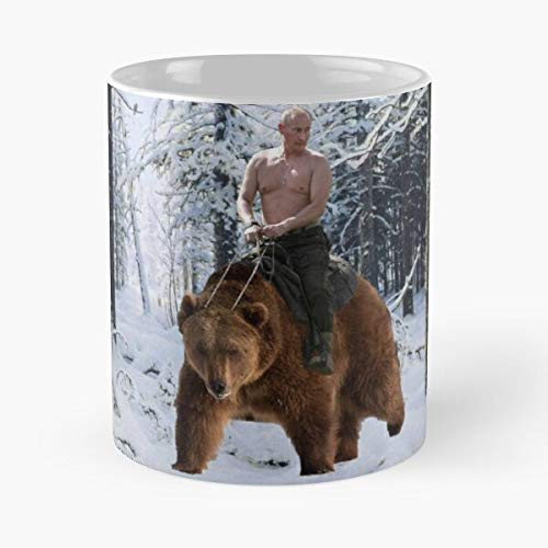 lumeCube Walk Politics Nature Snow Bear Winter Putin Russsia Best 11 oz Kaffeebecher - Nespresso Tassen Kaffee Motive