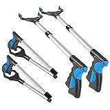 """Best Grabber Tools - 2 Pack - 32"""" Foldable Reacher Grabber Pickup Review"""