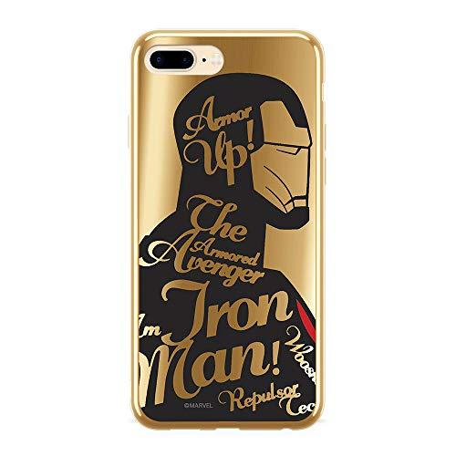 Ert Group MPCIMAN3344 Cubierta del Teléfono Móvil, Iron Man 010 iPhone 7 Plus/ 8 Plus