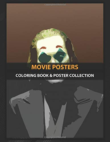 Coloring Book & Poster Collection: Movie Posters Abstract Joker With Joaquin Phoenix Movies