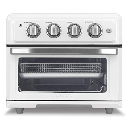 Cuisinart TOA-60W Airfryer, Convection Toaster Oven, White