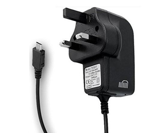 TheMax Micro Charger 2A USB connector for Samsung Galaxy S7 S6 S5 S4 S3, Nokia lumia 920, HTC One X, Sony Xperia S, Google Nexus 7/10,external battery and other compatible micro USB devices Etc