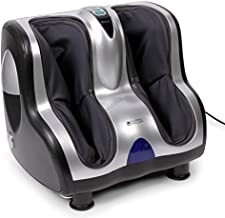 VITALZEN® Foot and Leg Massager (2020 Model) - Massage Systems: vibrotherapy, accupressure, Reflexology, Percussion, and Compression/air - 3 Intensity Levels – 2 Year Warranty