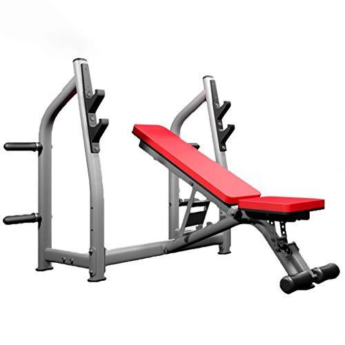 qazxsw Squat Rack Krafttraining Rack Bank Rack Rack Verstellbares Fitnessstudio Gewichtheben Home Barbell Squat Rack Fitnessgeräte