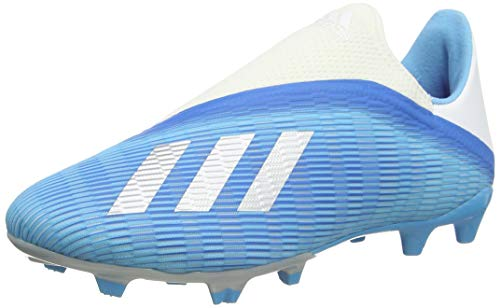 adidas Unisex-Erwachsene X 19.3 Ll Fg Fußballschuhe, Mehrfarbig (Bright Cyan/Core Black/Shock Pink 000), 44 2/3 EU