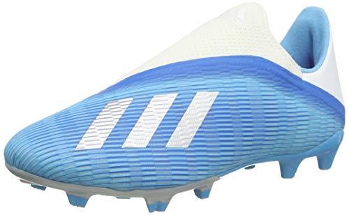 Adidas X 19.3 Ll FG, Botas de fútbol Unisex Adulto, Multicolor (Bright Cyan/Core Black/Shock Pink 000), 42 EU