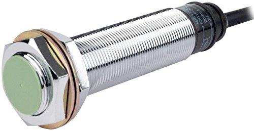 AUTONICS PRL18-8DP Sensor, Inductive Prox, 8mm Sensing, M18 x 80mm Long Round, Non-Shielded, DC, PNP NO, 3 Wire, 10-30VDC