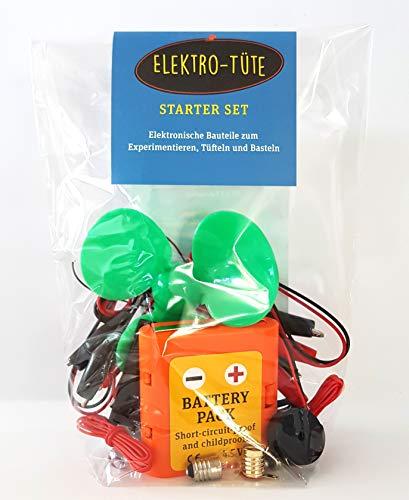 Elektronische Bauteile zum Experimentieren und Basteln. Elektro-Tüte