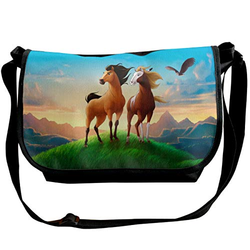 Spirit Stallion of The Cimarron Shoulder Bags - Travel/Hiking Chest Sling Bag Crossbody Backpack Casual Daypack Backpacks for Mens and Womens