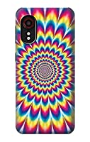 JP3162GX5 カラフルなサイケデリック Colorful Psychedelic For Samsung Galaxy Xcover 5 用ケース