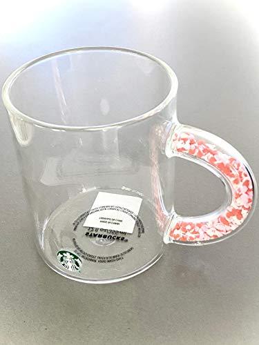 Starbucks 2020 Valentinstags-Tasse mit Henkel voller kleiner Herzen, limitierte Auflage, 340 ml