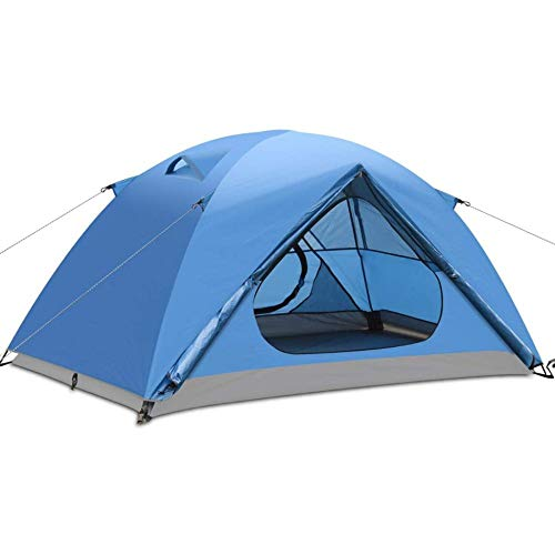 WEUN Automatic Pop-up Tent Double-layer Family Holiday Camping Waterproof Dome Frame Tent Suitable For 3-4 People Outdoor Survival