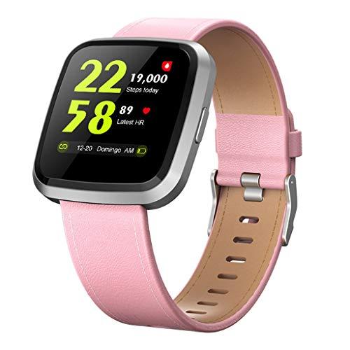 Monitores de actividad SmartWatch Fitness Trackers 1.3 'Pantalla de color táctil completa IP67 Impermeable, con Monitor de sueño de Calorie de Paso, Pedómetro for hombres for mujer for Android IOS