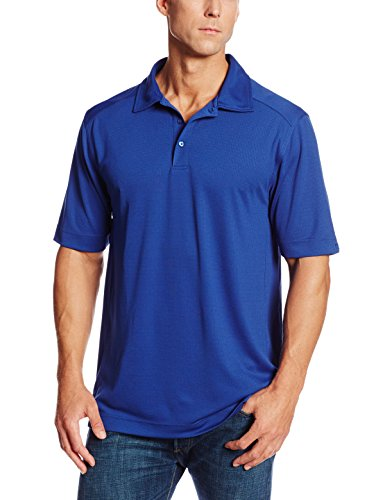 Cutter & Buck Men's Big-Tall Cb Drytec Genre Polo Shirt, Tour Blue, 3XT