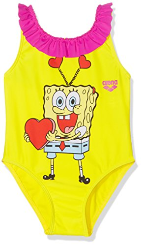 ARENA Badeanzug Kg Sponge Love Kids gelb 1-2 Jahre (90 cm)