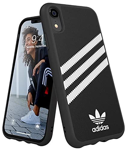 Adidas Moulded Étui pour Apple iPhone XR Noir/Blanc
