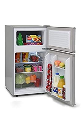 IceKing 48cm Under Counter 2 Door Fridge Freezer 2 Year Warranty