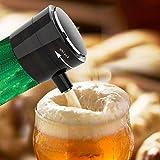 Changzhou Bottle Beer Foamer Wine Decanter, Foam Maker Bubbler Ultrasonic Battery Powered Draught Beer Dispenser