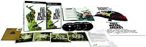 Full Metal Jacket [Édition collector-4K Ultra HD + Blu-Ray + DVD + Livret]