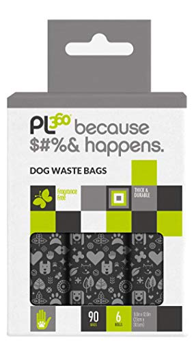 Pet Waste Bags Thick Strong Unscented Dog Poop Bags 90ct