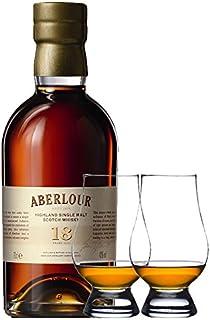 Aberlour 18 Jahre Single Malt Whisky 0,5 Liter  2 Glencairn Gläser