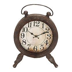 Deco 79 52728 Metal Clock