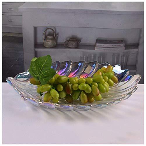 QTQHOME Portafrutta Portafrutta di Grandi Dimensioni Regalo Decorativo in Vetro Piatto da Frutta Conservazione Frutta Porta Frutta Porta Frutta Porta Frutta (Colore:B)