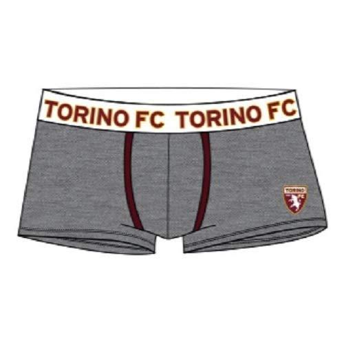 TORINO F.C Boxer Abbigliamento Intimo Prodotto Ufficiale Bambino Ragazzo Torino calcioInter Calcio (Grigio Scuro, 12 Anni)