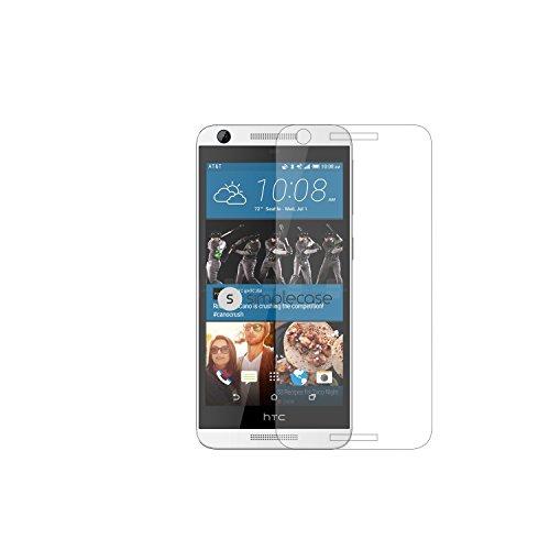 Simplecase Panzerglas passend zu HTC Desire 626 , Premium Bildschirmschutz , Schutz durch Extra Festigkeitgrad 9H , Hülle Friendly , Echtglas / Verb&glas / Panzerglasfolie , Transparent - 1 Stück