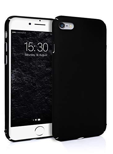 MyGadget Cover per per Apple iPhone 6 / 6s - Case Sottile Posteriore – Custodia Rigida & Resistente in Plastica PC -Antigraffio e Antiurto - Colore Nero