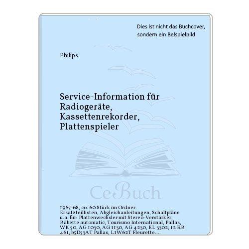 Service-Information für Radiogeräte, Kassettenrekorder, Plattenspieler
