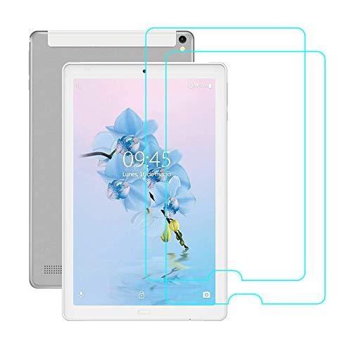 YGoal Protector de pantalla para Tablet 10 pulgadas,  [2 PACK] Protector de Pantalla de Vidrio Templado para nuevo YOTOPT 10.1 pulgadas,  Allmeida 10.1 pulgadas,  TEENO 10 y YESTEL X2 10 pulgadas