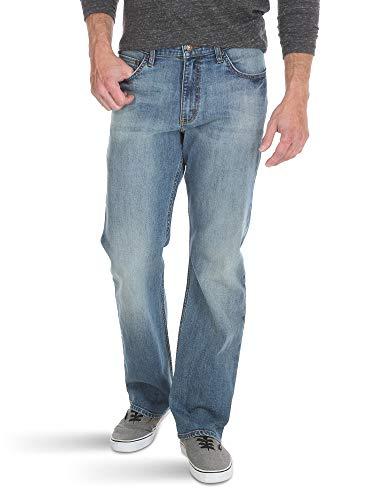 Wrangler Authentics Men's Relaxed Fit Boot Cut Jean, Riptide, 32W x 30L