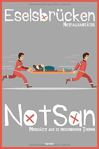 Eselsbrücken NotSan: Notfallsanitäter - Merksätze aus 22 medizinischen Themen