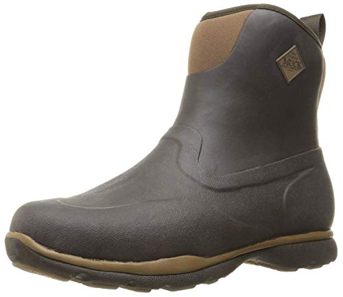 Muck Boot mens Excursion Pro Mid Snow Boot, Bark/Otter, 9-9.5 US