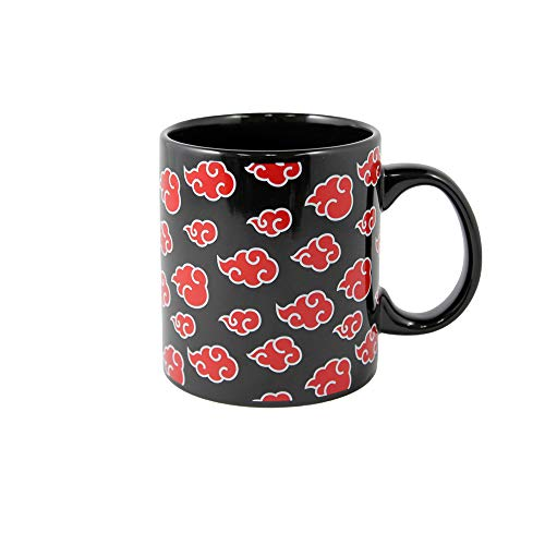 Naruto Shippuden Coffee Mug, 20 oz, featuring Akatsuki Clouds, by Just Funky