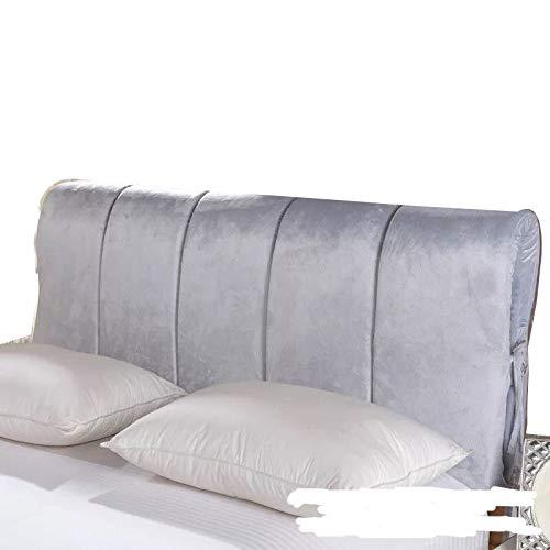 Huvudgavel Huvudgavelöverdrag Plysch All-inclusive Dammskydd Mjukt Och Bekvämt Dammtätt Sängöverdrag (Color : A, Size : 120x60cm)