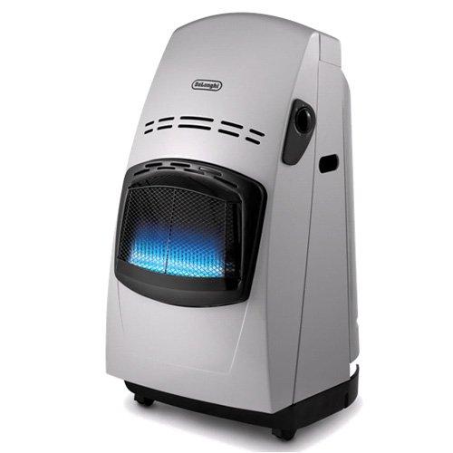 5.- Estufa de gas De'longhi VBF - 4200 W, sistema variable de control de la llama, doble sistema seguridad, mandos...