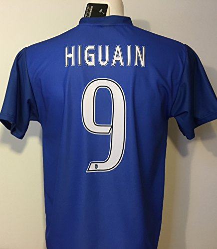 Maglia Away HIGUAIN Juventus Replica Ufficiale 2016-17 Juve Bambino Anni 12 10 8 6 4 2 Gonzalo Higuaín 9 SECONDA Blu (6 Anni)
