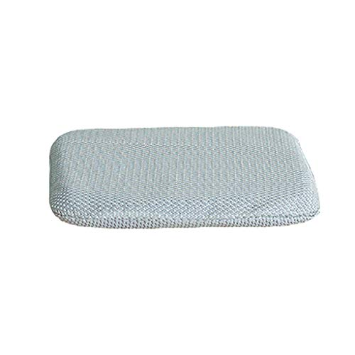 Gel Seat Cushion Breathable Honeycomb Design Cushion, Help in Relieving Back Pain & Sciatica Pain, for Office Chair Car Wheelchair (Color : Silver)
